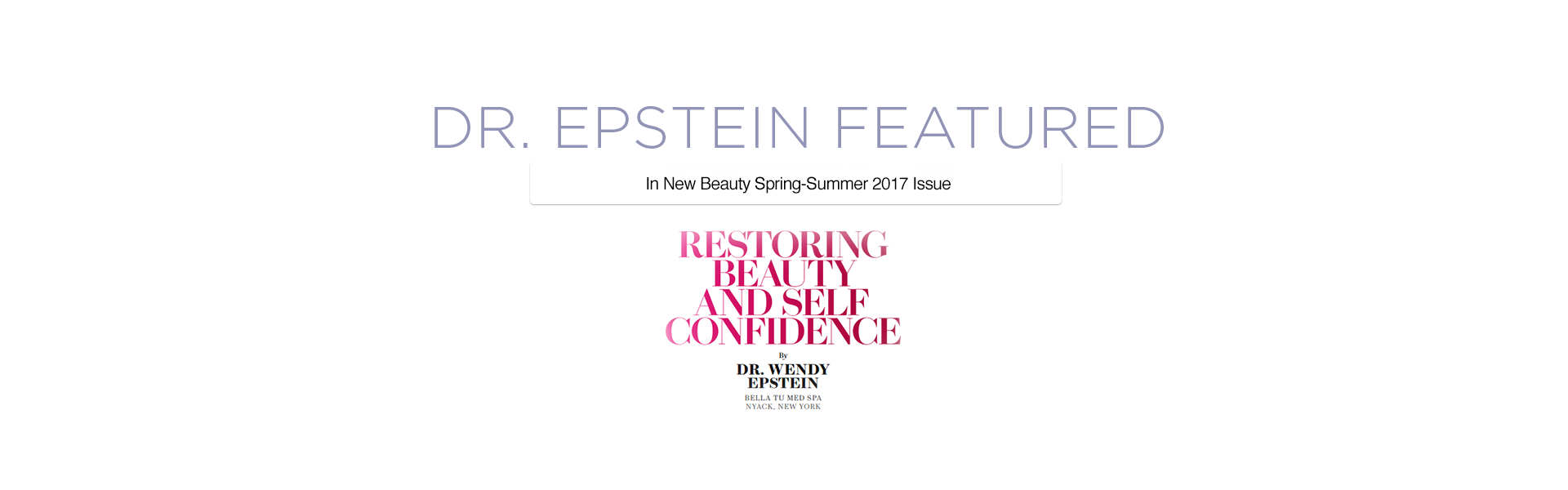 Wendy Epstein, MD Cosmetic Dermatology and Women's Health